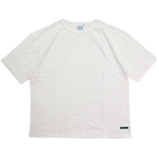 A HOPE HEMP アホープヘンプ Set in BIG S/S Tee (ナチュラル)(Tシャツ)
