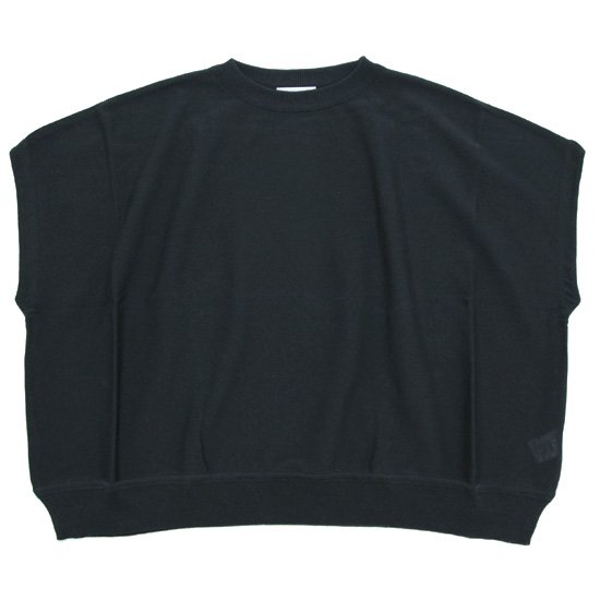 ORDINARY FITS オーディナリーフィッツ レディース BARBAR NO SLEEVE KNIT (インク)(サマーニットソー)