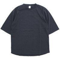 Jackman ジャックマン|JM5930 1/2 Sleeved T-shirt (スミクロ)(五分袖Tシャツ)