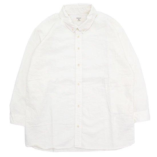 remilla レミーラ|ドルマン八分シャツ (ホワイト)(八分袖シャツ)