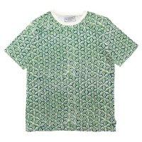 A HOPE HEMP アホープヘンプ|Asaha S/S Tee (グリーン)(ヘンプコットン Tシャツ)
