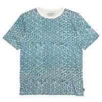 A HOPE HEMP アホープヘンプ|Asaha S/S Tee (ブルー)(ヘンプコットン Tシャツ)