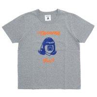 TACOMA FUJI RECORDS タコマフジレコード|HANDWRITING LOGO (ヘザーグレイ)(プリントTシャツ)