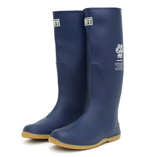remilla レミーラ|ナガグツ (スチールブルー)(長靴)