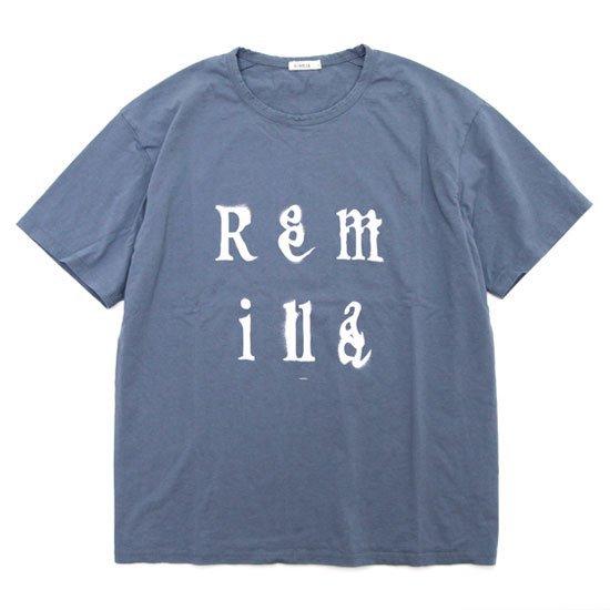 remilla レミーラ|Remilla Tee (ブルーグレイ)(プリントTEE)