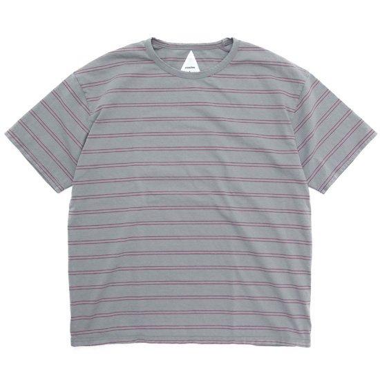 remilla レミーラ|BDボーダー Tee (グレイ)(Tシャツ)