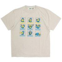 Nasngwam ナスングワム|REMOTE DRINKING TEE (サンド)(Tシャツ)