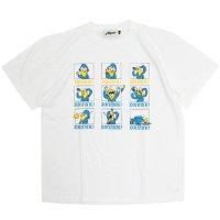 Nasngwam ナスングワム|REMOTE DRINKING TEE (ホワイト)(Tシャツ)