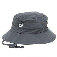 KM4K カモシカ|SAFARI HAT (DARK GRAY)(ハット)