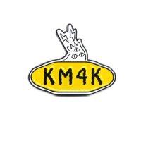 KM4K カモシカ|METAL PIN BADGE (メタルピンバッジ)