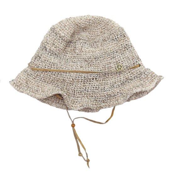 GO HEMP ゴーヘンプ HIGHLAND HAT (ホワイト)(ハイランドハット)