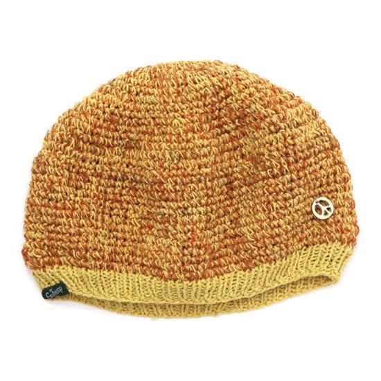 GO HEMP ゴーヘンプ ALUCH BERET (オレンジ)(ベレー帽)