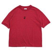 Jackman ジャックマン|JM5129 Himo T-Shirt (レッド)(Tシャツ)