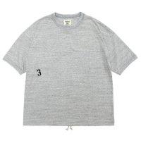 Jackman ジャックマン|JM5129 Himo T-Shirt (ヘザーグレイ)(Tシャツ)