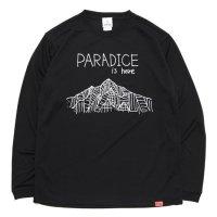 KM4K カモシカ|OG ロング化繊Tシャツ T'S AS (ブラック)(ロングTシャツ 吸水速乾) ANOTHERSKY