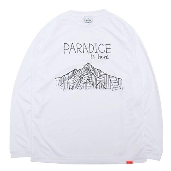 KM4K カモシカ|OG ロング化繊Tシャツ T'S AS (ホワイト)(ロングTシャツ 吸水速乾) ANOTHERSKY