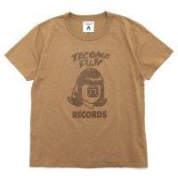 TACOMA FUJI RECORDS タコマフジレコード|LOGO Tシャツ (コーヒー)(コーヒー染め)