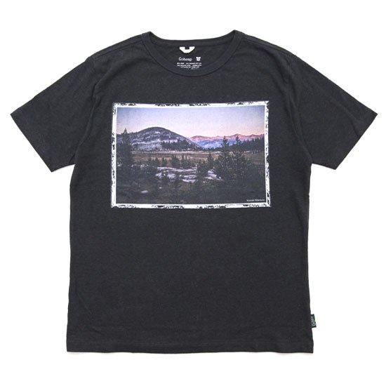 GO HEMP ゴーヘンプ|MAGIC HOUR S/SL TEE (ガンメタルグレイ)(プリントTシャツ)