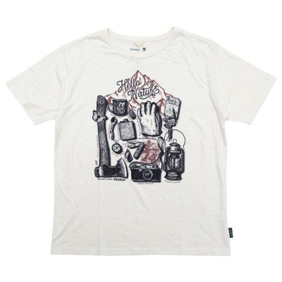 GO HEMP ゴーヘンプ|MY FAVORITE GEAR S/SL TEE (ナチュラル)(プリントTシャツ)