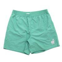 【KM4K カモシカ】WORK SHORT PANTS (ライトグリーン)(ショートパンツ)(ナイロン)