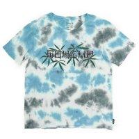 GO HEMP ゴーヘンプ|TIE DYE S/SL TEE (ブルー)(タイダイ プリントTシャツ)