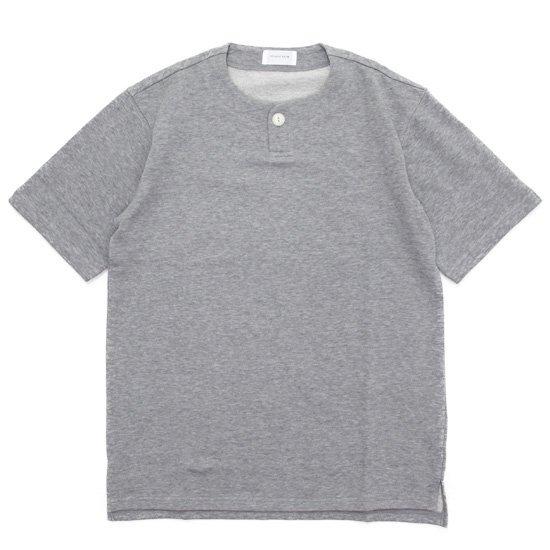 SPINNER BAIT スピナーベイト ミニ裏毛 1ボタン ヘンリー (グレイ)(Tシャツ)