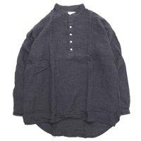 Nasngwam ナスングワム|RUI SHIRTS (チャコール)(プルオーバーシャツ)