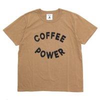 TACOMA FUJI RECORDS タコマフジレコード|COFFEE POWER (コーヒー染め)(プリントTシャツ)