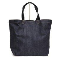 【GREEN CLOTHING グリーンクロージング】DENIM TOTE BAG (カイハラデニム生地)(トートバッグ)