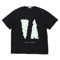 remilla レミーラ|PLANE Tee (ブラック)(プリントTシャツ)