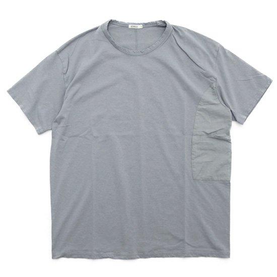 remilla レミーラ カバーポケット Tee (ライトグレイ)(無地Tシャツ)