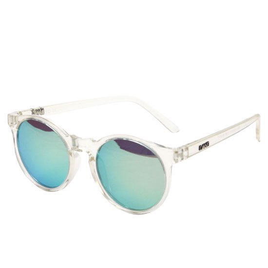 【DANG SHADES ダンシェイディーズ】ATZ Crystal Clear x Silver Blue Mirror Polarized(偏光レンズ)(サングラス)