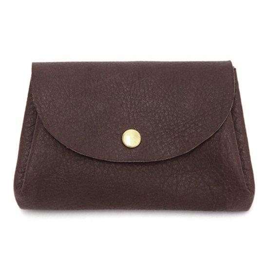 imoco いもこ|日光の鹿のコンパクト財布 (チョコ)(財布)