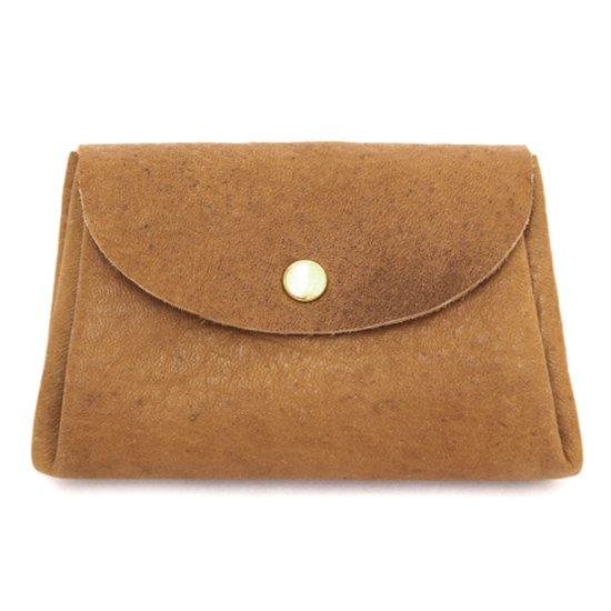imoco いもこ 日光の鹿のコンパクト財布 (キャラメル)(財布)