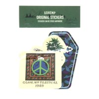GO HEMP ゴーヘンプ|ORIGINAL STICKERS (Gセット)(ステッカー)