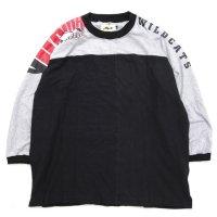 Nasngwam ナスングワム|BOTH TEE (ブラック:L2)(長袖Tシャツ)