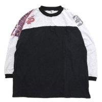 Nasngwam ナスングワム|BOTH TEE (ブラック:M1)(長袖Tシャツ)