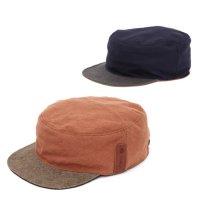 【horizon ホライズン 】別注カラー The Work cap (カキ)(ネイビー)(リバーシブル)(ワークキャップ)(ハンドメイド)(ヘンプ)