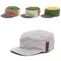 【horizon ホライズン 】The Work cap (アッシュ)(リバーシブル)(ワークキャップ)(ハンドメイド)(ヘンプ)