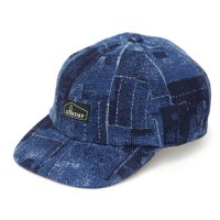 GO HEMP ゴーヘンプ|INDIGO OLD CLOTH PANEL CAP (インディゴ)(キャップ)