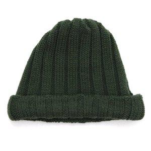 remilla レミーラ|リブニット帽 (オリーブグリン)(ワッチキャップ)