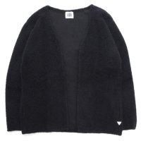 melple メイプル|ウィンターパイル ボレロ (ブラック)(カーディガン)