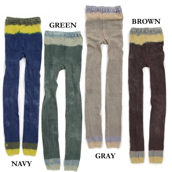 GO HEMP LEG BORDER LEGGINGS