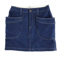GO HEMP レディース VENDER GIRL MINI BLUE DENIM (ONE WASH)
