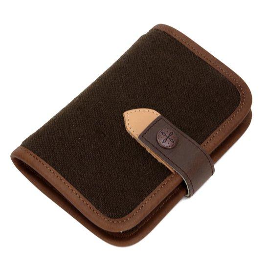 kukri kub-33 plunner datebook (dark brown×ai×olive)