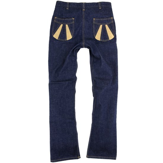 Nasngwam SUNRISE PANTS DENIM (ONE WASH)