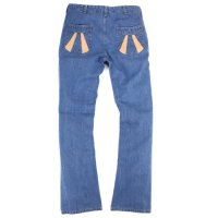 Nasngwam SUNRISE PANTS DENIM (USED WASH)