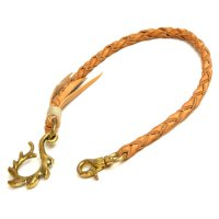 MAGIC THEATER FLARE LEAF 12 WALLET CHAIN (NATURAL)