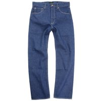 GO HEMP BASIC 5POCKET PANTS BLUE DENIM (ONE WASH)