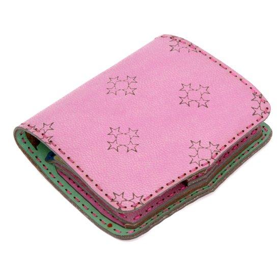 OjagaDesign Short wallet Sylph (ピンク)